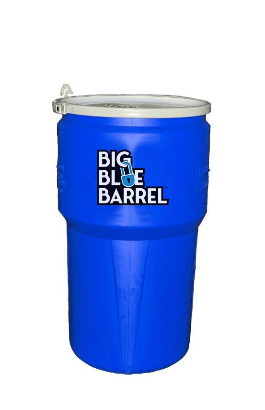 Baby Blue Barrel
