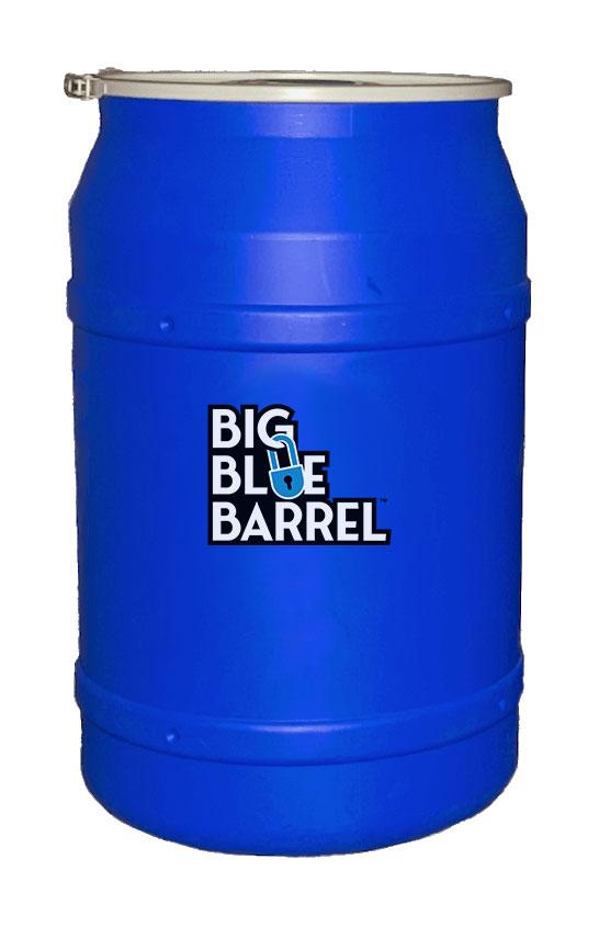 Big Blue Barrel